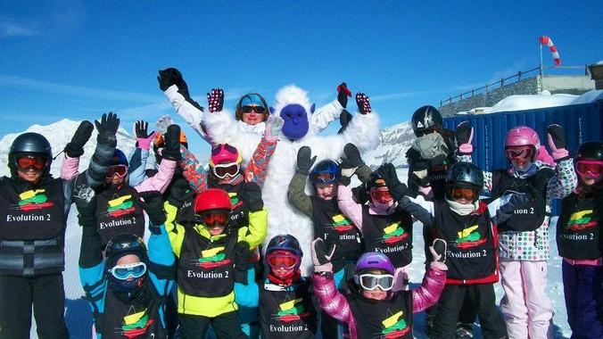 Kids Ski Lessons (6-18 years) - Morning - Low Season