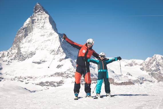 Kids Ski Lessons (7-11 y.) for All Levels - Half Day