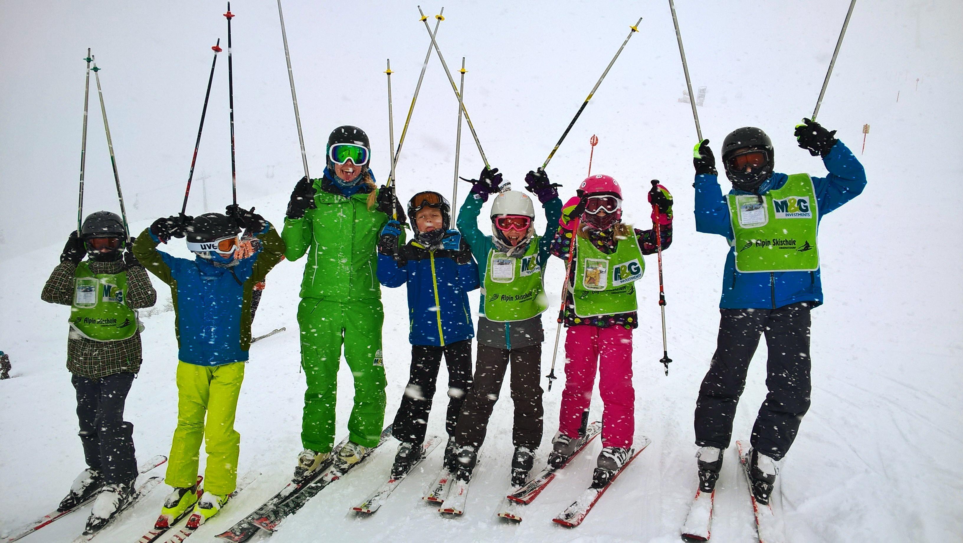 Kids Ski Lessons (9-17 y.) for Advanced Skiers