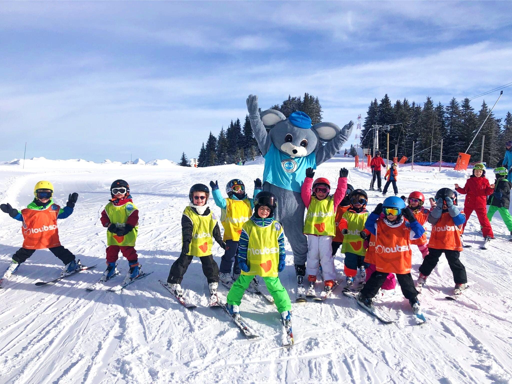 Kids Ski Lessons (4-15 y.) - Afternoon