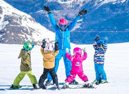 Kids Ski Lessons (from 4 y.) for All Levels - Afternoon