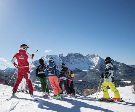 Kids Ski Lessons (from 4 years) - Advanced