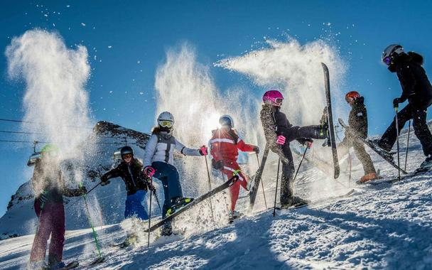 Kids Ski Lessons (6-14 y.) for Advanced Skiers