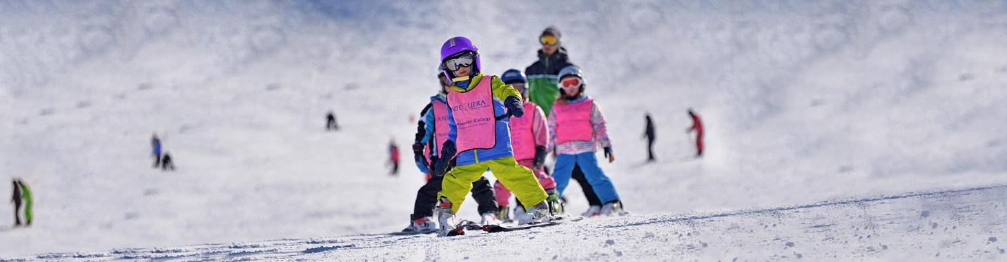 Kids Ski Lessons (3-5 y.) for First Timers