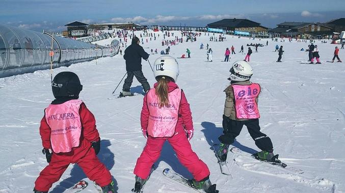 Private Ski Lessons for Kids (3-12 y.) of All Levels