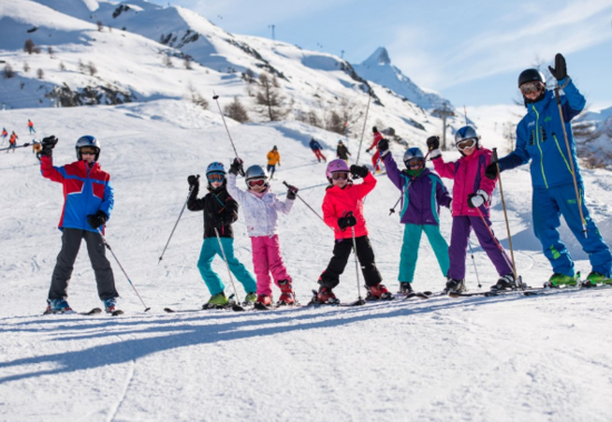 Ski Groups for Kids (6-12 yrs) - Blue, Red & Black