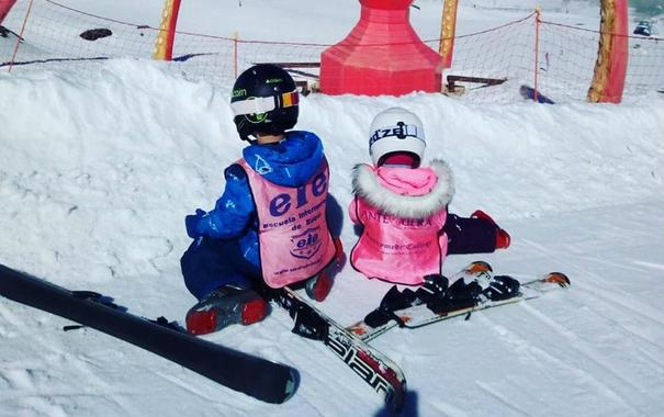 Ski Lessons for Kids (3-5 years) - Holidays - First Timer