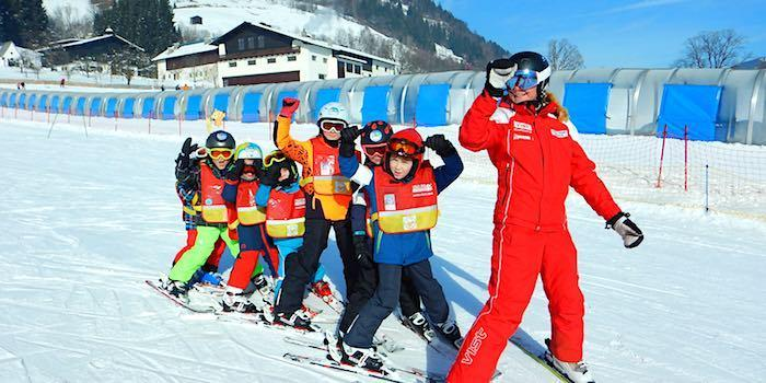Kids Ski Lessons (4-12 y.) for Beginners