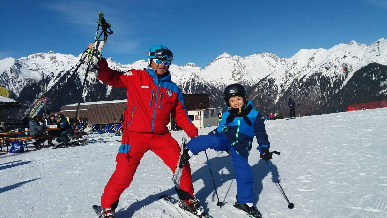 Private Ski Lessons for Kids - High Season