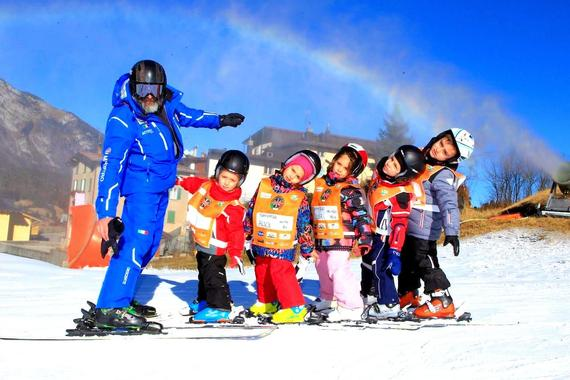 Kids Ski Lessons (4 y.) - Baby Weekend - Beginner