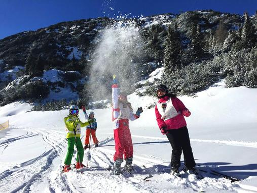 Kids Ski Lessons (5-14 y.) - Weekend - Advanced