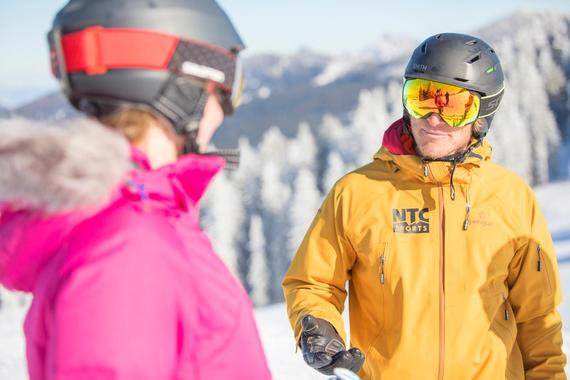 Private Ski Lessons for Adults