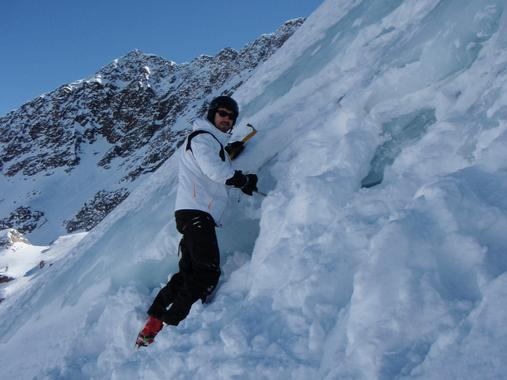 Ice climbing for beginners