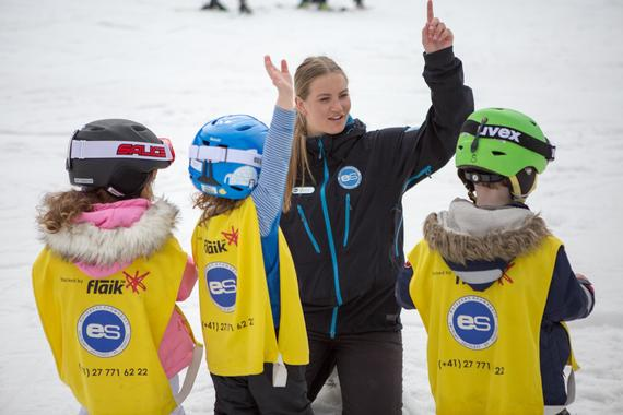 Kids Ski Lessons (3-5 y.) for Beginners