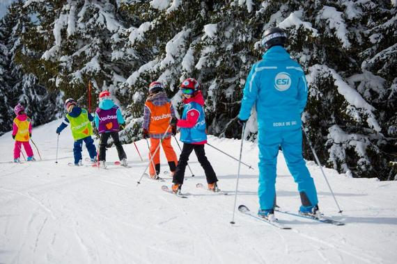 Ski Lessons for Kids (5-15 years) - All Levels