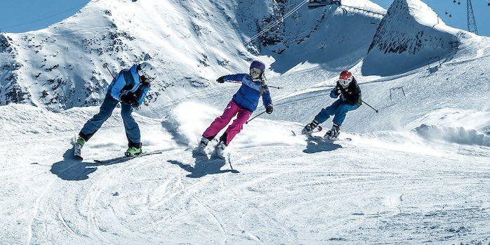 Teen Ski Lessons (12-15 y.) for All Levels