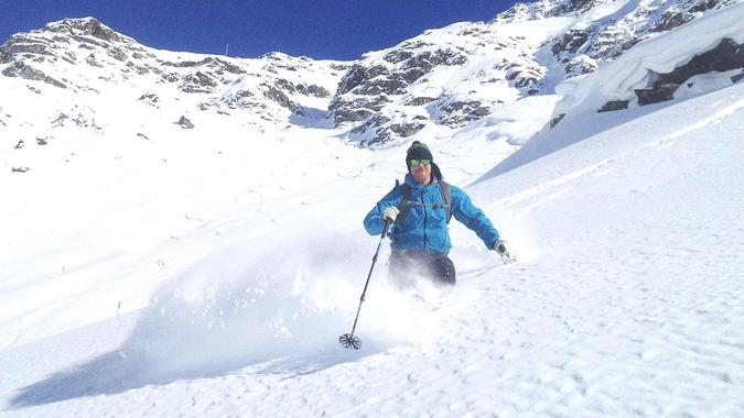 Private Off-Piste Skiing Lessons for Adults in Val d'Isère