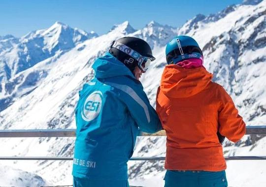 Private Ski Lessons for Adults - Holidays