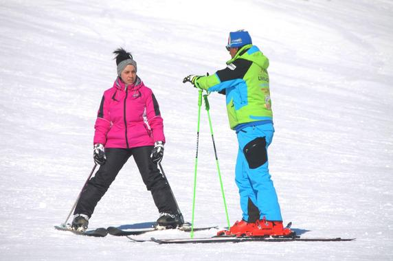 Private Ski Lessons for Adults - Low Season