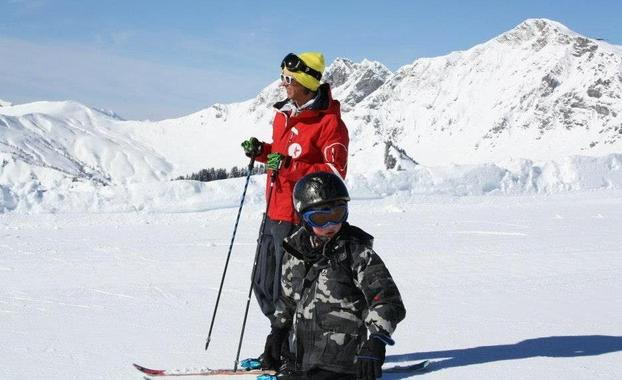 Private Ski Lessons for Kids (3-5 y.) of All Levels