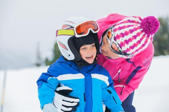 Private Ski Lessons for Kids (up to 10 y.) of All Levels