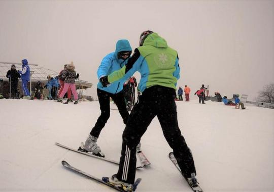 Private Ski Lessons for Kids & Adults - Nighttime