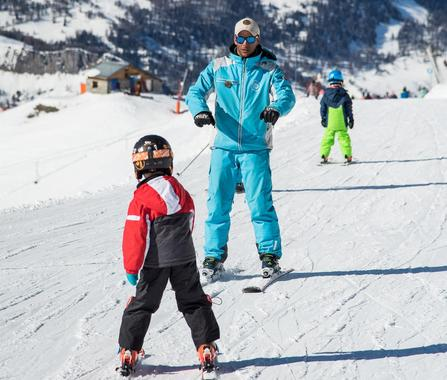 Private Ski Lessons for Kids - Holidays