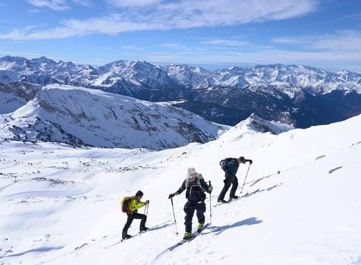 Private Ski Touring Guide in High Season