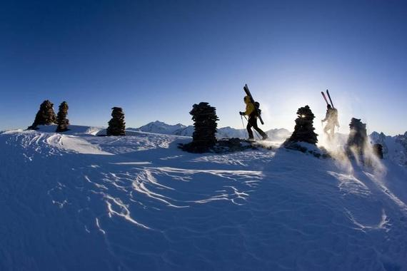 Private Ski Touring Guide - Medium to Difficult