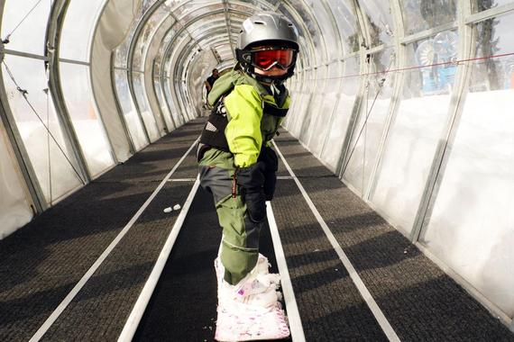 Private Snowboarding Lessons for Kids (up to 10 y.)