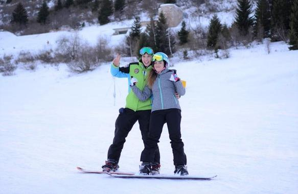 Private Snowboarding Lessons for Kids & Adults - Nighttime