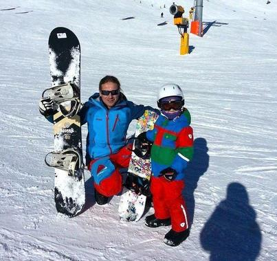Private Snowboarding Lessons for Kids -Obergurgl-Hochgurgl