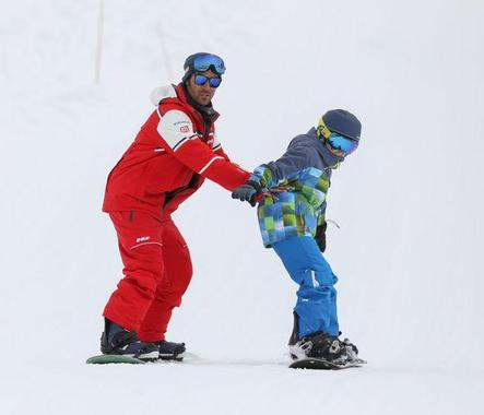 Private Snowboarding Lessons (from 8 y.) for All Levels