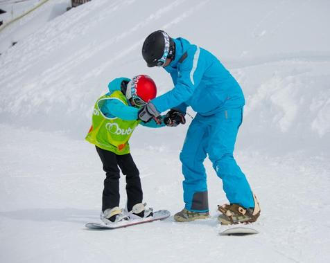 Snowboard Instructor Private - Holiday