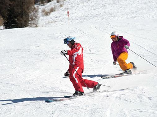 Private Telemark Skiing Lessons - All Levels