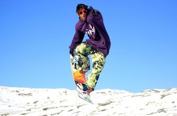Private Freestyle Snowboarding Lessons with Rodrigo