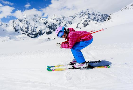 Private Ski Lessons for Kids of all Ages in the Afternoon