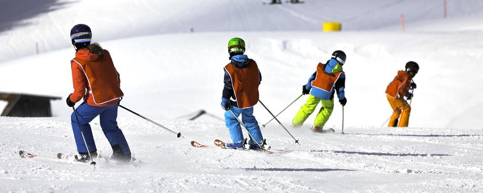 Ski Private Instructor All Day for Kids - All Levels