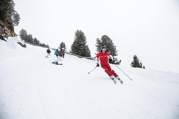 Skiing Lessons for Adults - Advanced
