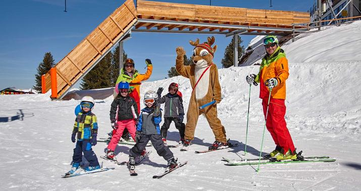 Kids Ski Lessons (from 3 years) - All Levels