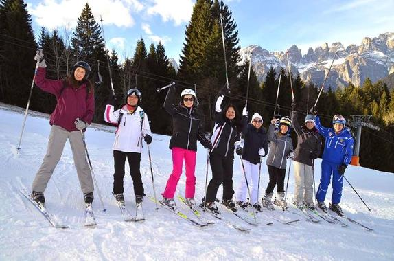 Ski Lessons for Adults - Weekend - Beginner