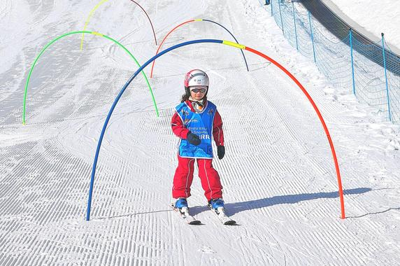 Kids Ski Lessons (5-12 y.) - Half Day - With Experience