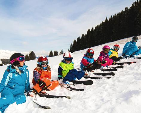 Kids Ski Lessons (4-6 years) - Holiday