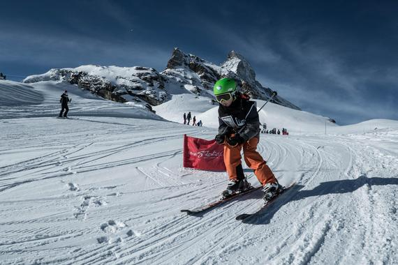 Kids Ski Lessons (5-12 years) - Afternoon - With experience