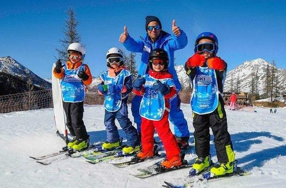 Kids Ski Lessons (5-12 y.) for All Levels
