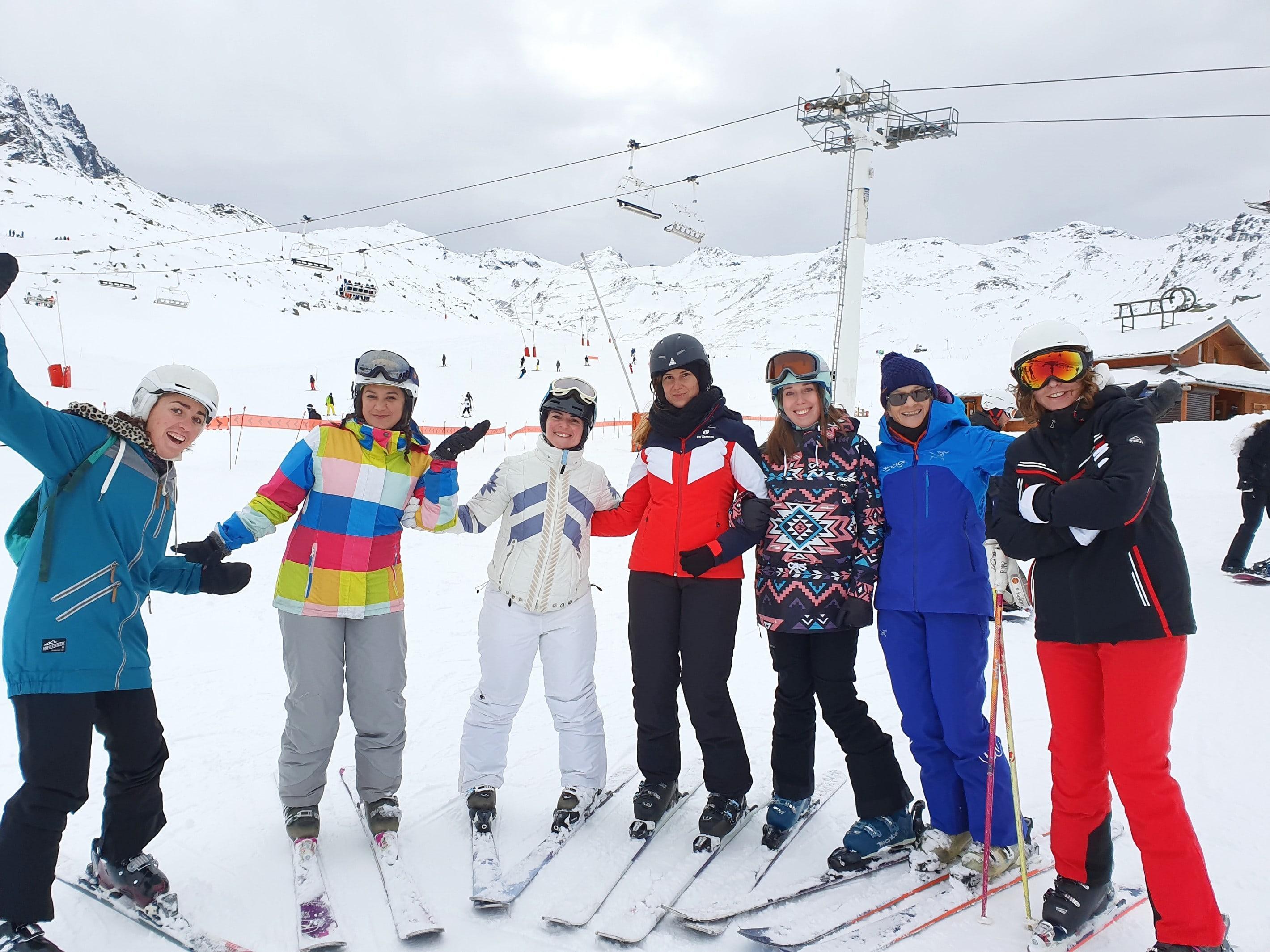 Teen & Adult Ski Lessons