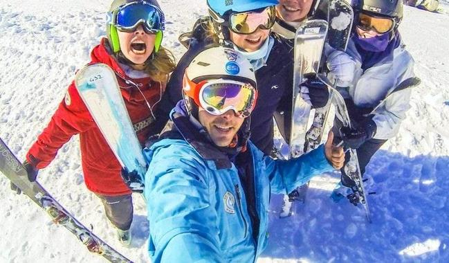 Teen Ski Lessons (from 13 y.) for Advanced Skiers