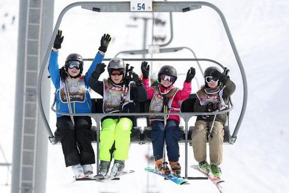 Ski Lessons for Teens