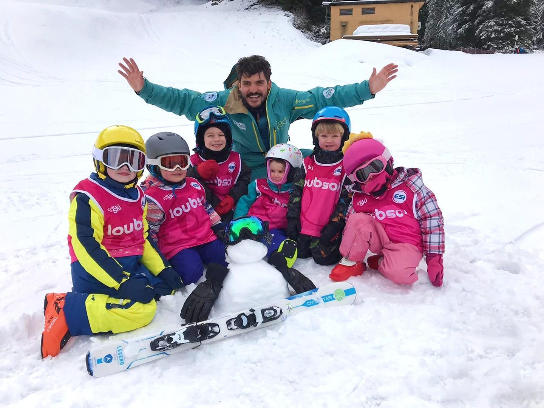 Kids Ski Lessons (4-5 y.) - Low Season