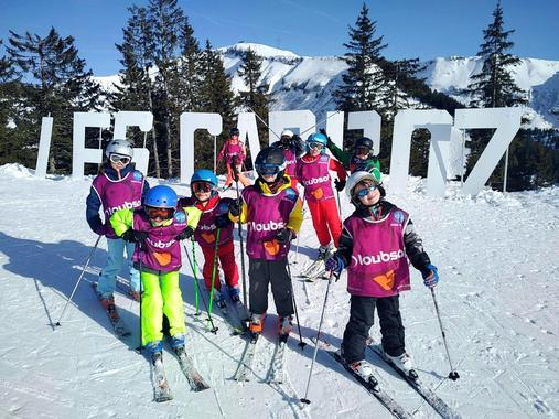 Ski Lessons Kids (5-15 years) - Les Carroz - Morning